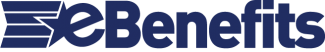 eBenefits logo blue